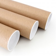 UPGRADE - postal tube - wrapping paper only