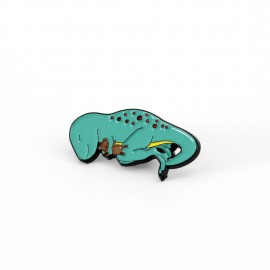 SECOND - Dino-snore Dinosaur Enamel Pin