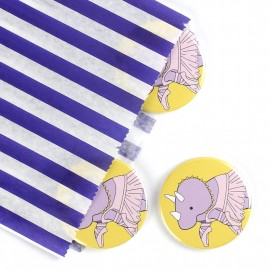 Ballet Triceratops Badge