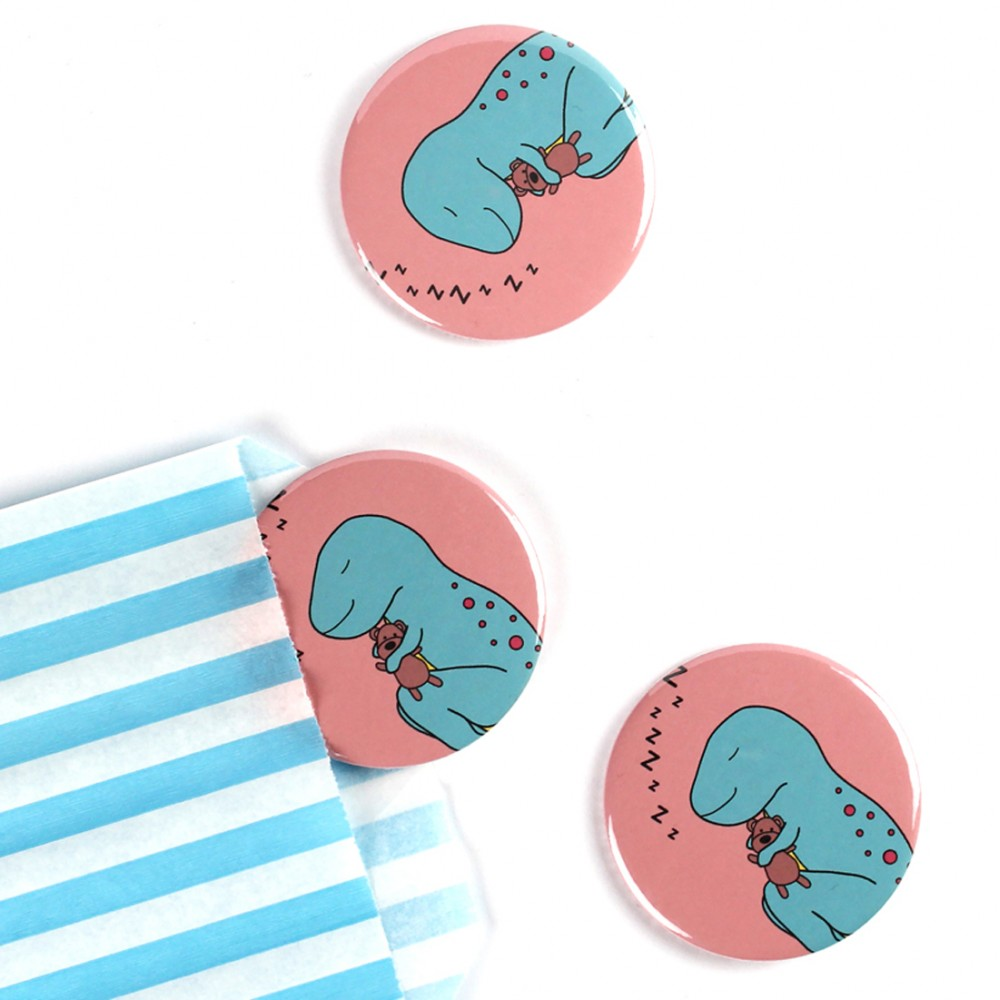 Dino-Snore Badge