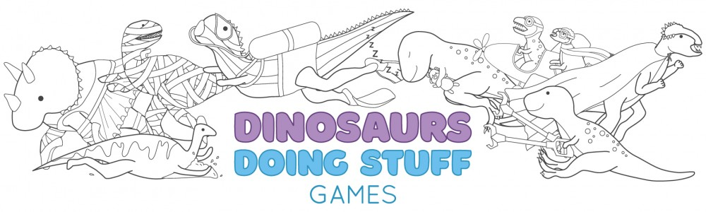 Dinosaurs Doing Stuff - Games