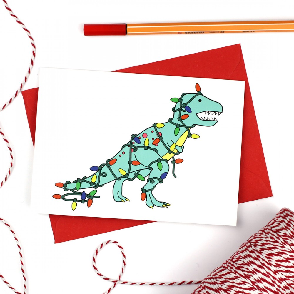 Nice Jumper! Dinosaur Greeting Card