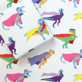 Superhero Wrapping Paper