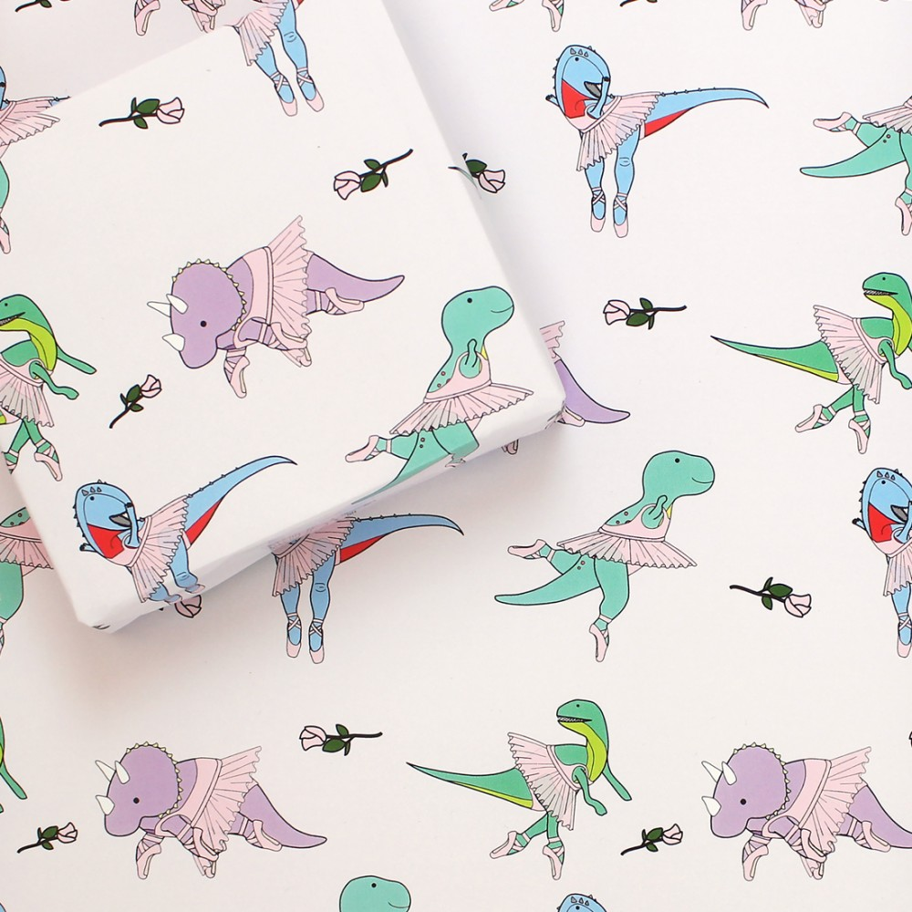 Ballet Wrapping Paper