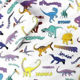 Dinosaur Word Wrapping Paper
