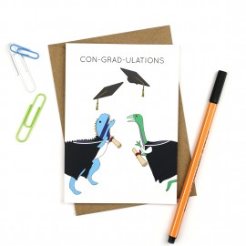 Dinosaur Graduation Card
