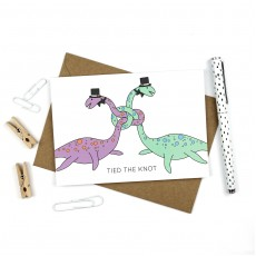 Tied the Knot Wedding Card - Same sex - Men