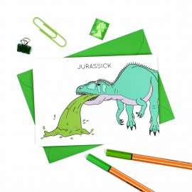 Jurassick Greeting Card