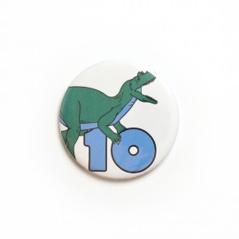 Number 10 badge