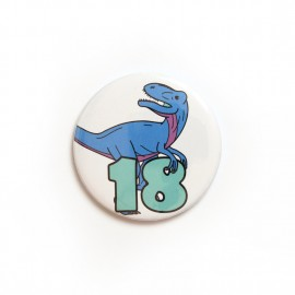 Number 18 badge