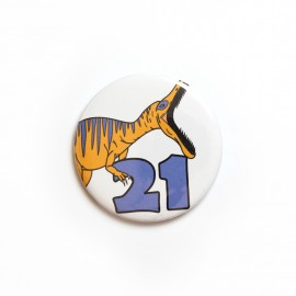 Number 21 badge