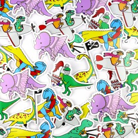 Dinosaur Sticker - 6 designs available