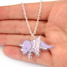 Ballet Dinosaur Necklace