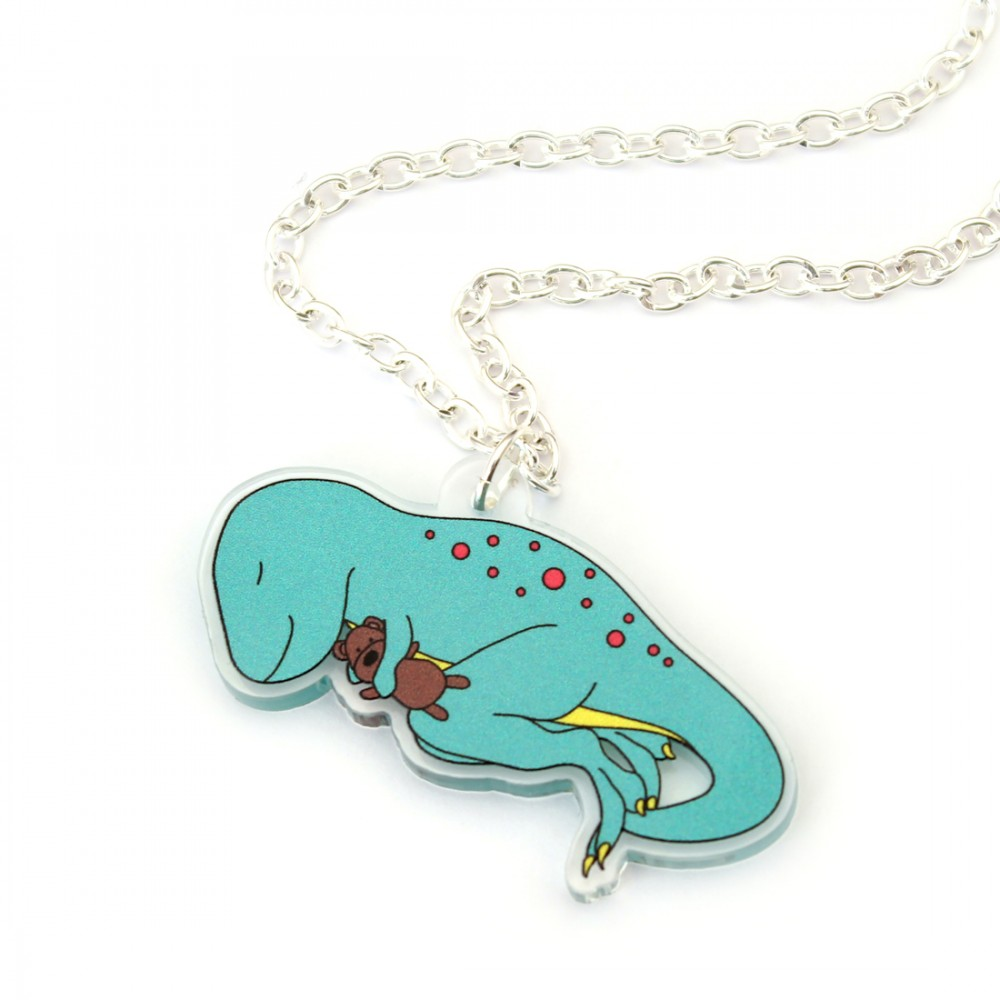 Dino-Snore Necklace