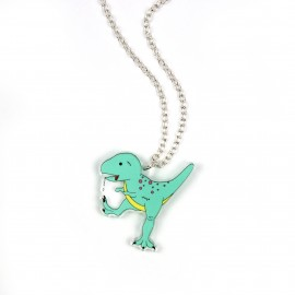 Zombie T-Rex Necklace