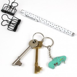 Dino-snore keyring